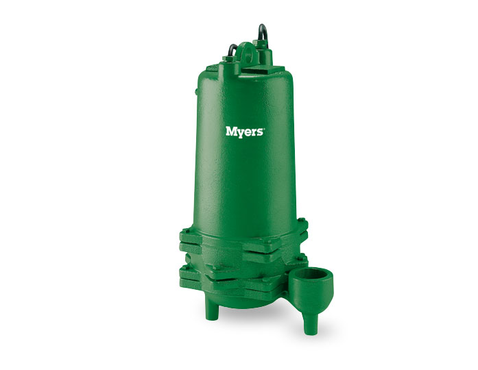 Myers 1/2 HP Cast Iron Effluent S.T.E.P. Pump Part #:P52D