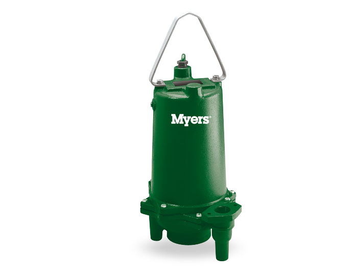Myers 2 HP Single-Seal Residential Grinder Pump, 45 GPM Part #:MRG20