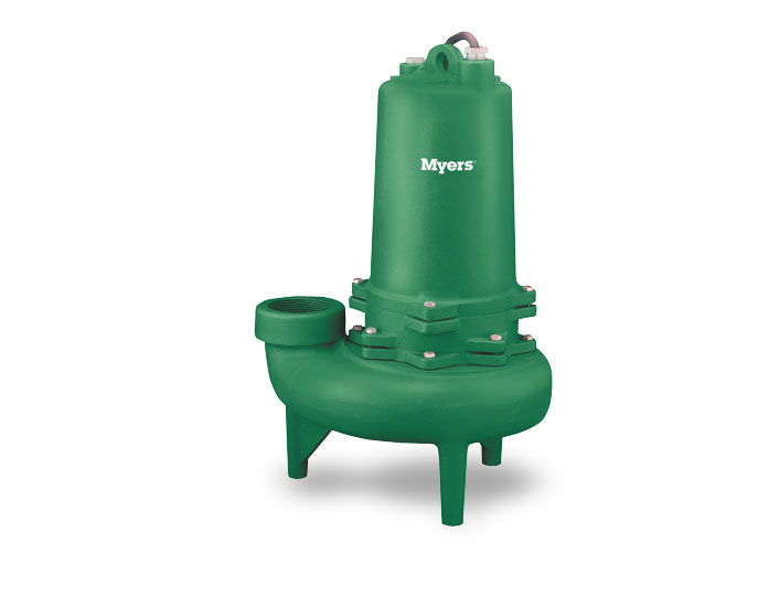 Myers 3 In. Solids Handling Pump, Double-SealPart #:3MW20DM2-43