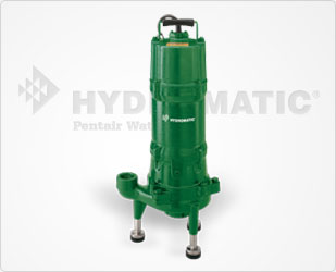Hydromatic Double-Seal Grinder Pump 2 HP Cast Iron, 1-1/4Part #:HPGR200-D