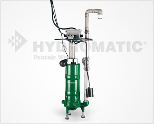 Hydromatic Double-Seal Grinder Pump 2 HP Cast Iron, 1-1/4Part #:HPGR200-D RETROFIT