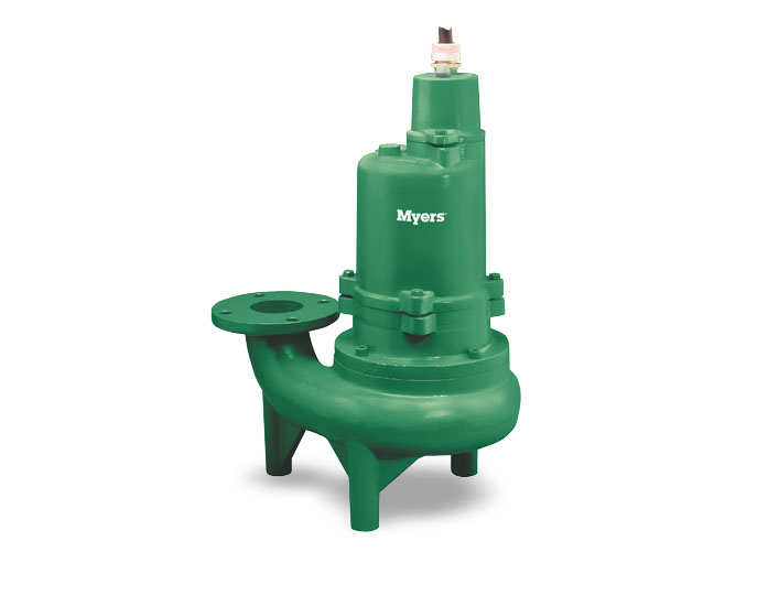 Myers 3 In. Solids Handling Pump, Single-SealPart #:3WHV20M4-43