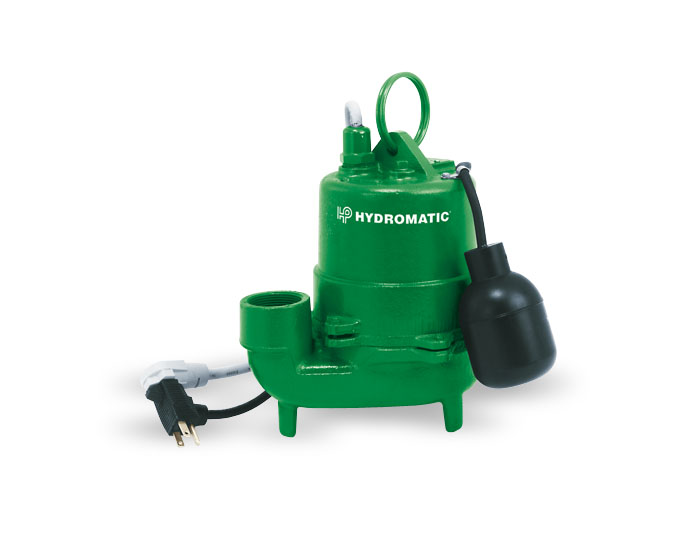 Hydromatic Submers. High-Temp. 1/2 HP Cast Iron Effluent PumpPart #:HTS50A1