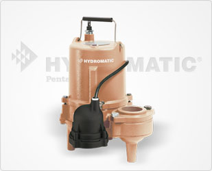 Hydromatic 4/10 HP Cast Iron Sewage Pumps Part #:SP50AB