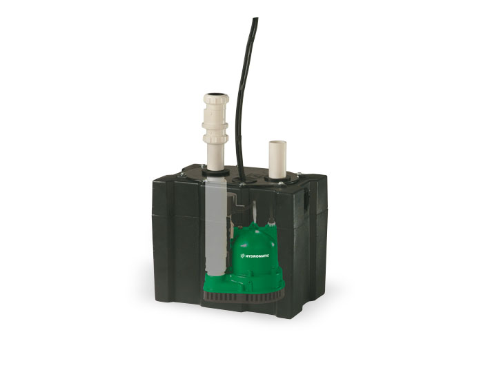 Hydromatic Packaged Sump Pump System 1/3 HPPart #:Model 118