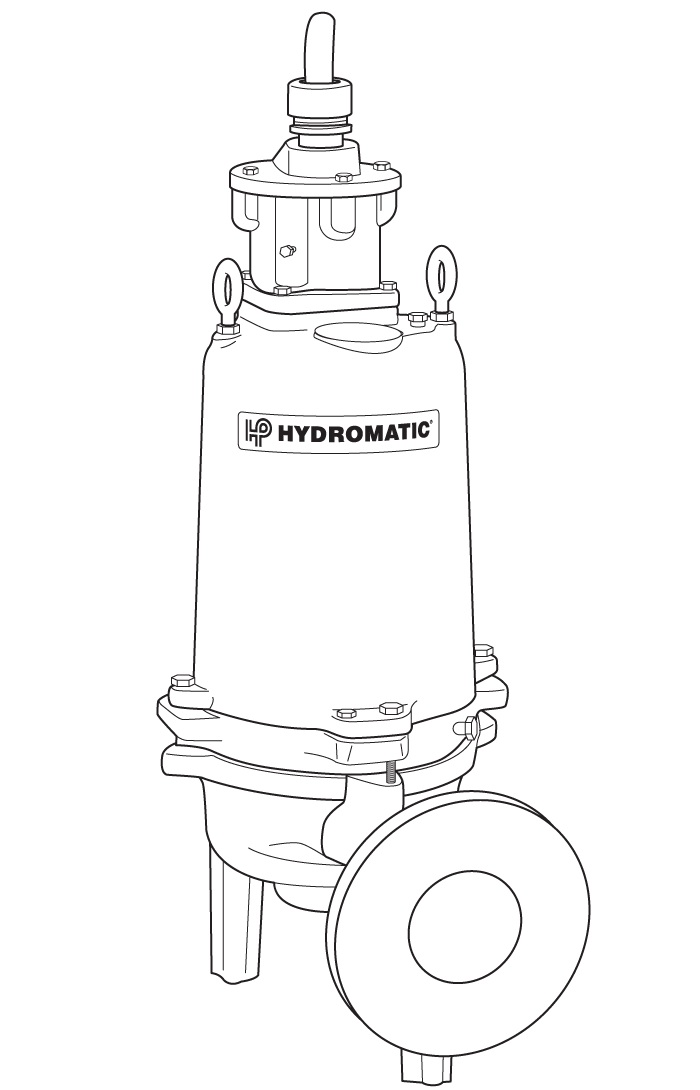 Hydromatic Submersible Pump, Hazardous Location Motor EndPart #:S4HVX