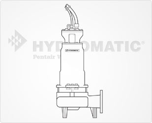 Hydromatic Submersible Pump With Hazardous Location Motor EndPart #:S4MVX