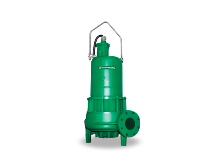 Hydromatic 4 Inch Discharge Submersible Solids Handling Pump Part #:H4Q