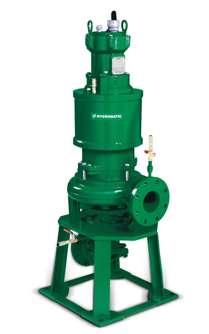 Hydromatic Submersible Dry Pit Solids Handing Pump Part #:SD4X4X9A