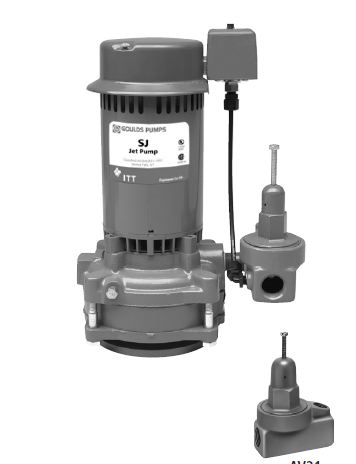 Goulds Deep Well Vertical Jet Pumps SJ07Part #:SJ07