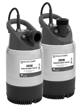 Goulds Submersible Dewatering Pumps 2DW1012Part #:2DW1012