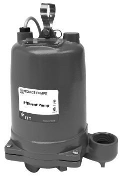 Goulds Submersible Effluent Pumps WE0318MPart #:WE0318M
