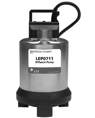 Goulds Submersible Effluent Pumps LEP0711AFPart #:LEP0711AF