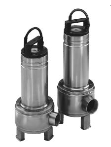 Goulds 2 In. Vortex Submersible Sewage Pumps 2DV51F3VAPart #:2DV51F3VA