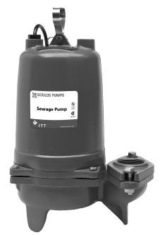 Goulds Submersible Sewage Pumps- 50 Hz WS0546BHFPart #:WS0546BHF