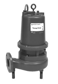 Goulds Submersible Sewage Pumps WS1512D3M  Part #:WS1512D3M
