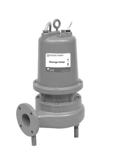 Goulds Submersible Sewage Pumps  - 50 Hz 3SD56F9EAPart #:3SD56F9EA