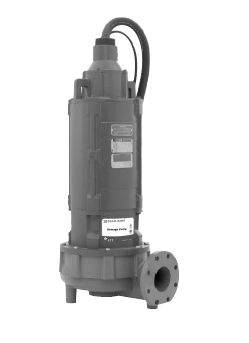 Goulds 4 In. Non-Clog Submersible Sewage Pump - 50 HzPart #:4NS16L6GC