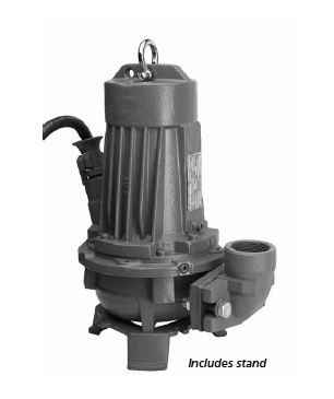 Goulds Submersible 2 In. Vortex Sewage Pumps 2GVA72A3AFPart #:2GVA72A3AF