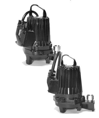 Goulds Submersible Grinder PumpPart #:2GA81J3ED