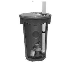 Goulds Assembled Wastewater Package Part #:GWP2245