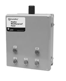 Goulds Single Phase Simplex Panel with CapacitatorPart #:S1FGC5