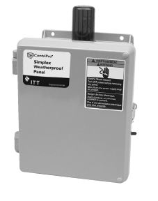 Goulds Simplex Weatherproof Controller with AlarmPart #:S10015WF