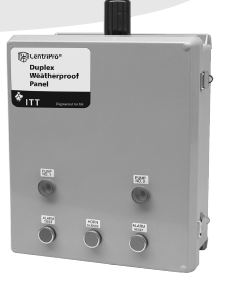 Goulds Variable & Fixed Speed Pump Controllers Duplex Weatherproof Panel D31620 for Sale