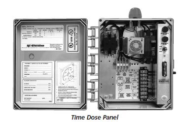 Goulds Time Dose PanelPart #:S1TD115