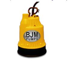 BJM The Baby Submersible Dewatering PumpPart #:BABY-12Volt