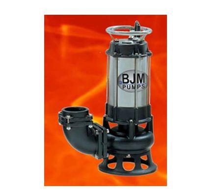 BJM Sand, Sludge & Slurry Cast Iron FAHRENHEIT Solids Handling Pump