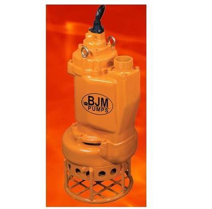 BJM Heavy Duty Submersible Slurry PumpPart #:KZN55CHF-208T