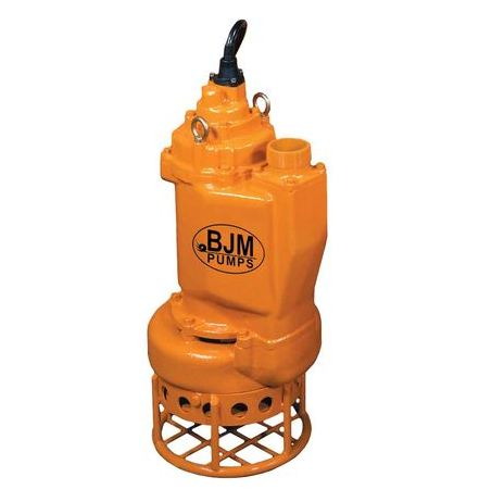BJM KZN Heavy Duty Submersible Slurry PumpPart #:KZN110H-460T