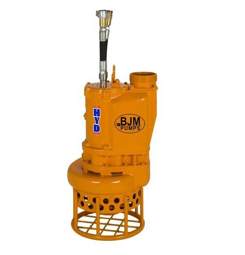 BJM Heavy Duty Submersible Slurry Pump - HydraulicPart #:KZN-HYD6R