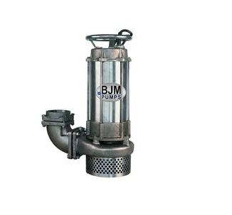 BJM Stainless Steel Sump PumpPart #:JX37SS-208T