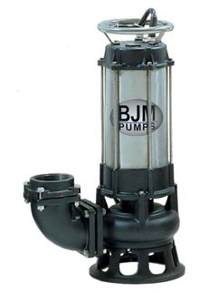 BJM Electric Submersible Shredder PumpPart #:SK08C-208T