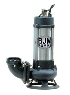 BJM Electric Submersible Pump - Single Vane ImpellerPart #:S08C-208T