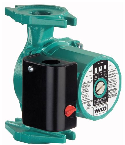 Wilo Cast Iron Wet Rotor Circulator-Star S 21FPart #:4105032