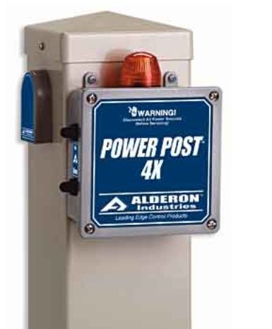 Alderon Controls Power Post 4X Pump Station Connection CenterPart #:7115