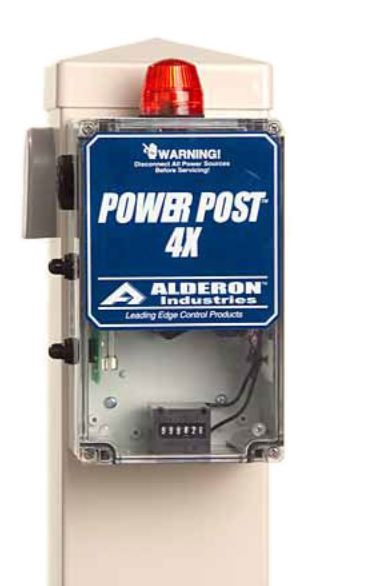 Alderon Controls Power Post 4X Expandable