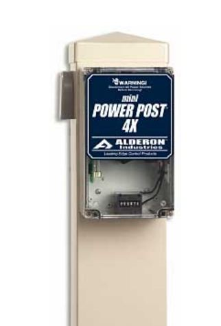 Alderon Controls Mini Power Post 4X Expandable