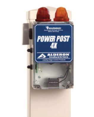 Alderon Controls Power Post 4X Filter/Dual Alarm