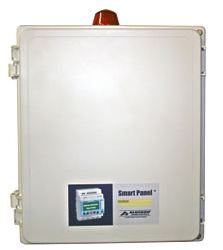 Alderon Controls Quadraplex Smart Panel - Sewage Control Panel