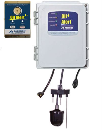 Alderon Controls Oil Alert Control Panel1-Phase SimplexPart #:7413